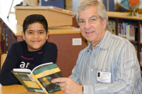 Reading Buddies - Lake Forest Elementary