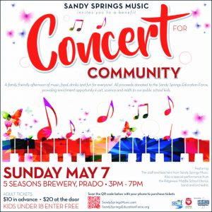 Concert For Community benefiting Sandy Springs Education Force