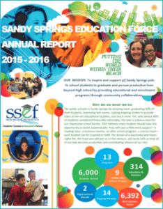 SSEF Annual Report 2015 - 2016