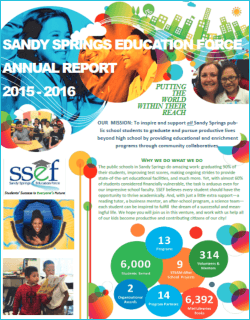 SSEF Annual Report 2015-16