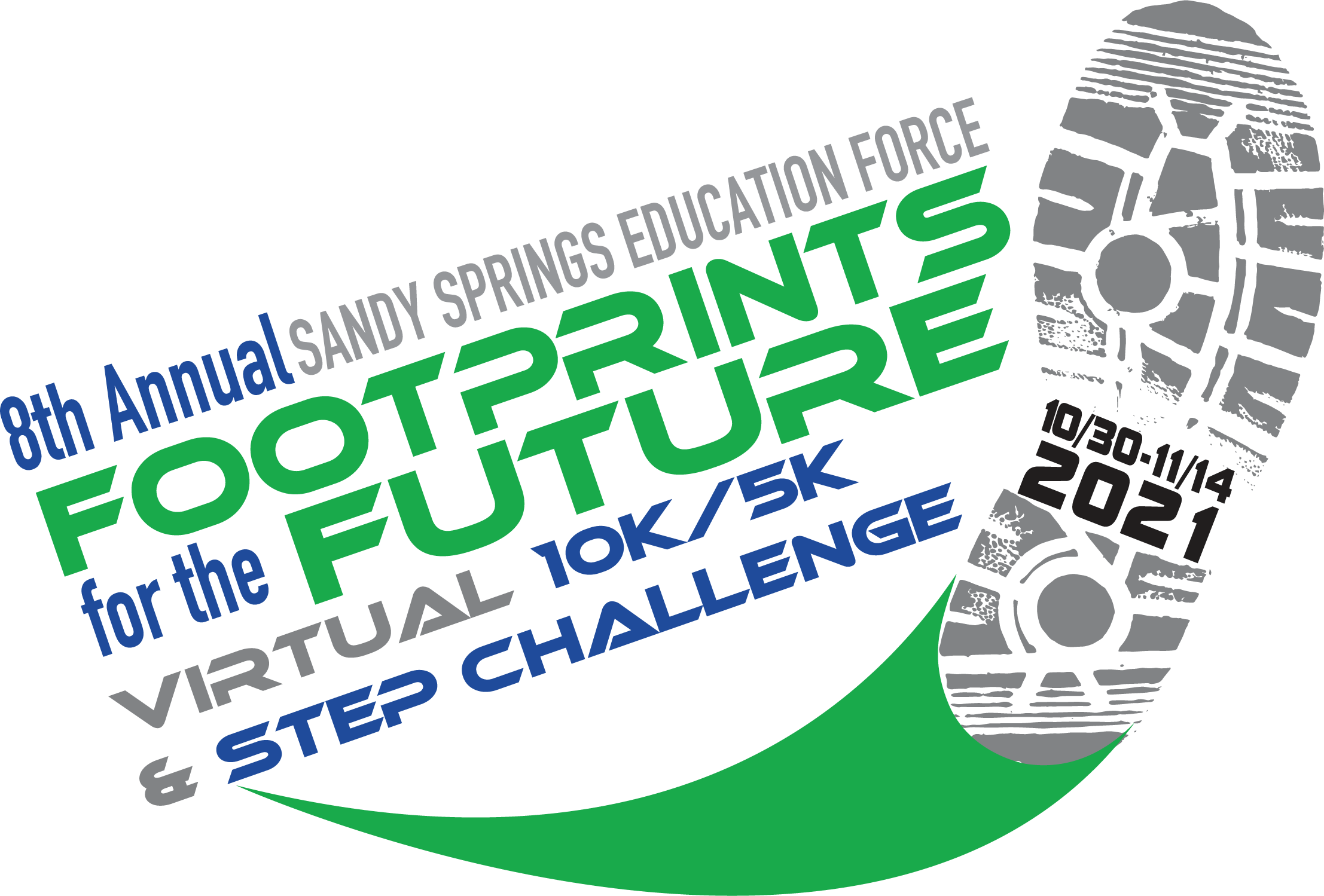 8th Annual VIRTUAL Footprints for the Future Road Race