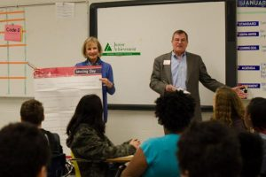 Junior Achievement business pressentation